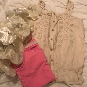 BUNDLE OF TWO GIRL'S TANK TOPS